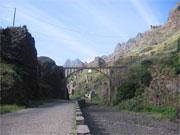 Kapverden Santo Antao Brücke